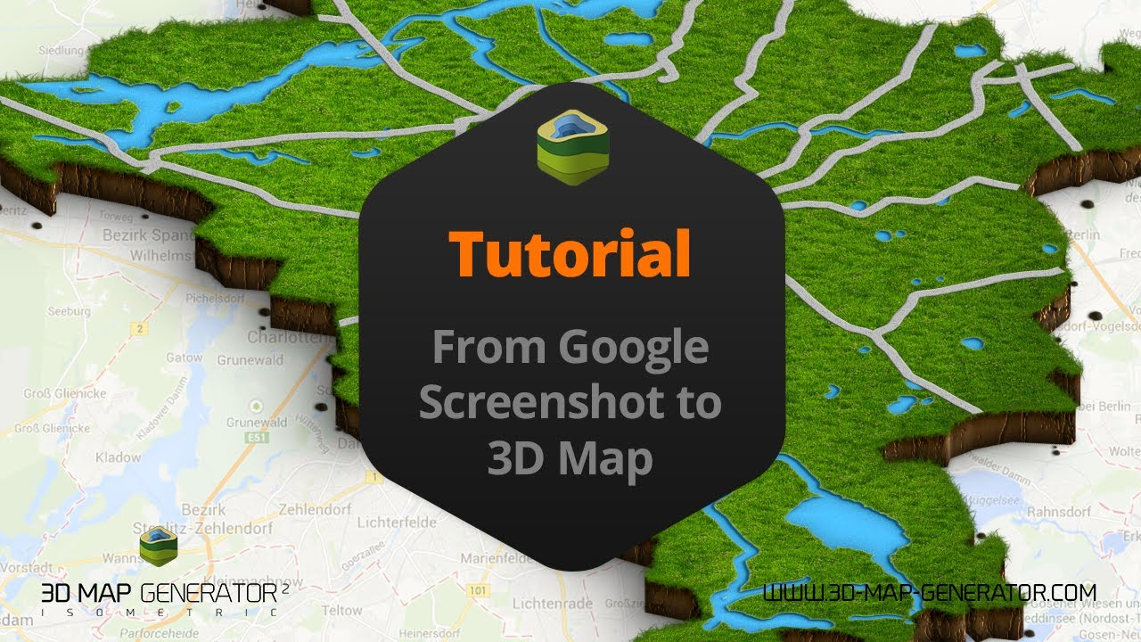 From google screenshot to 3d map   3D Map Generator 2   YouTube