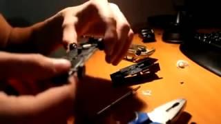 Видеоурок Как зинизить Масштабную машинку