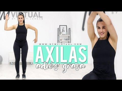 Tonificar brazos y eliminar grasa de las axilas | GymVirtual