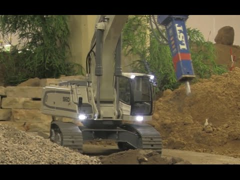 RC Excavator Demolition! Big RC Fun!