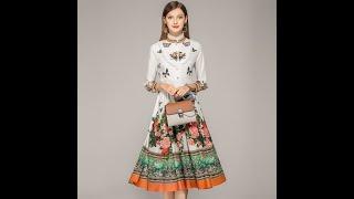 Платье средней длины с длинными рукавами улучшенное темперамент восстановление древних роскошных