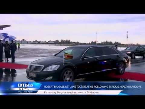 Robert Mugabe Returns to Zimbabwe Following Serious Health Rumours