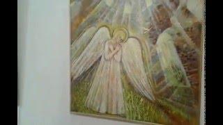 Выставка Ангелы Мира в Санкт Петербурге за день до открытия.