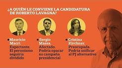 Lavagna rompió el silencio: ¿A quién le conviene su candidatura? +INFO