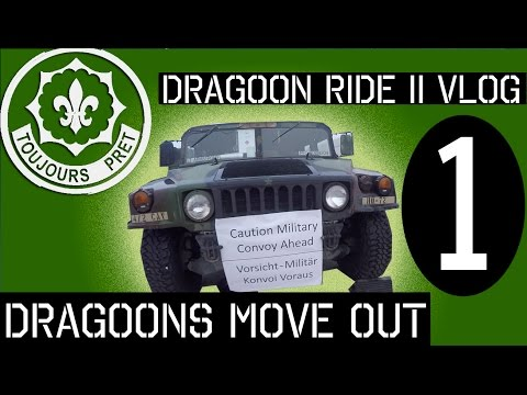 Dragoon Ride II VLOG: Episode 1