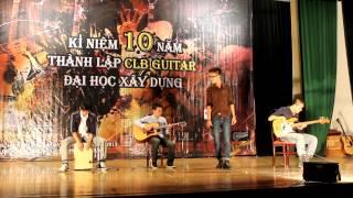 Tôi đọc báo công cộng - CLB guitar ĐH Bách Khoa - Kỷ niệm 10 năm CLB Guitar ĐH XD