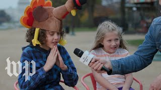 Kids explain how to cook a turkey | Short Takes