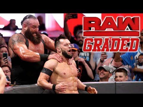 WWE Raw: GRADED (21 May) | Braun Strowman vs. Finn Balor