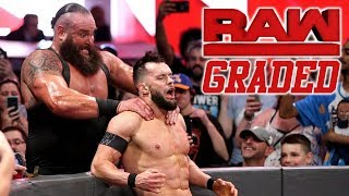 WWE Raw: GRADED (21 May)   Braun Strowman vs. Finn Balor