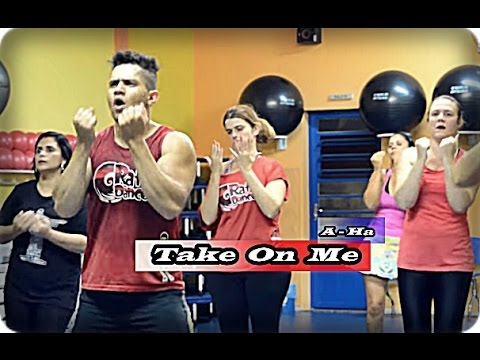 🔴Take On Me - A-Ha  ZIN 43 Zumba Rafa Dance (Coreografia ) Choreography