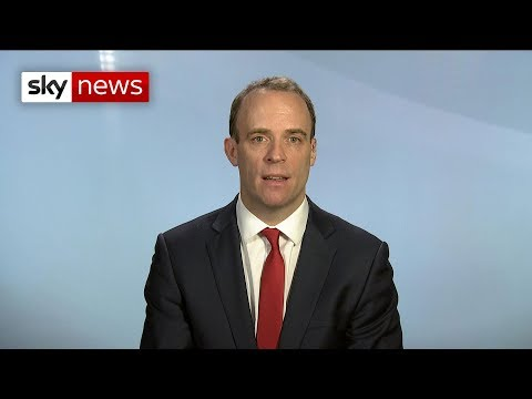 Dominic Raab: 'What matters right now is political resolve and will'