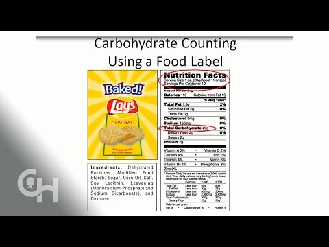 Reading Nutrition Facts With Diabetes