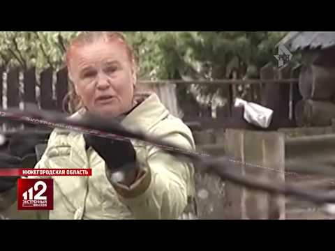 Семья нудистов смущает соседей   Видео