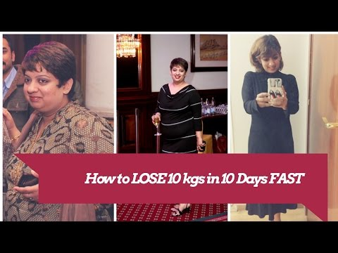 How to lose 10 kgs in 10 days| Fast & Easy Weight Loss No diet or Workout