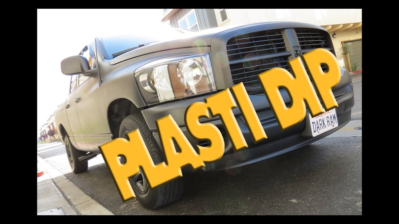 Dodge Ram Plastidip Whole Car Truck How To Matte