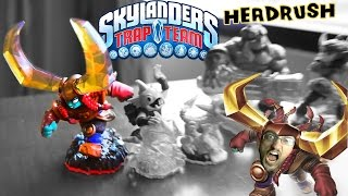 Head Rush [Earth Trap Master Fully Upgraded Gameplay] Skylanders Trap Team Hands-On (GAMESCON 2014)