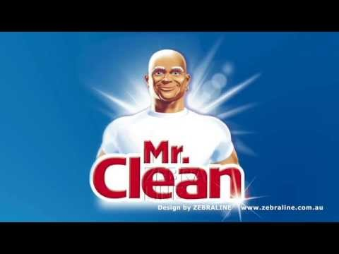 Amazing Mr Clean advertisement with catchy vintage music and motion graphic design  Zebraline