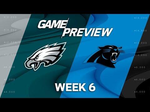 Philadelphia Eagles vs. Carolina Panthers | Week 6 Game Previews | NFL Playbook