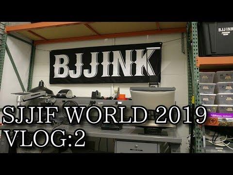 SJJIF WORLD 2019 VLOG:2 BJJINK