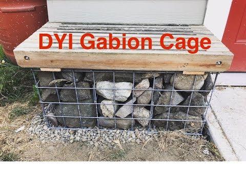DIY Gabion Cages
