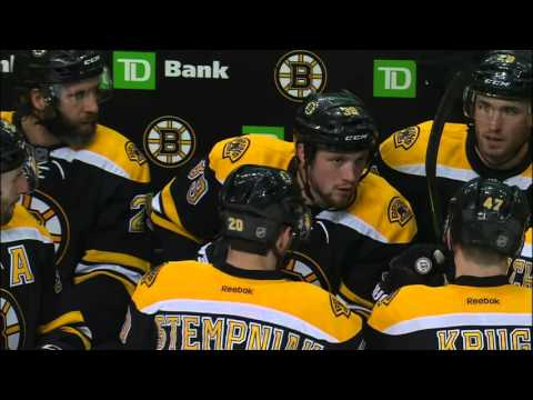 Gotta See It: Bergeron yells at teammates in midst of critical loss