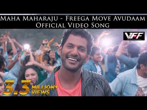 Maha Maharaju - Free'ga Move Avudaam Official Video Song  | Vishal, Hansika  | Hip Hop Tamizha