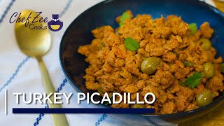 Turkey Picadillo  Ground Turkey Recipe  Cuban Recipes  Chef Zee Cooks
