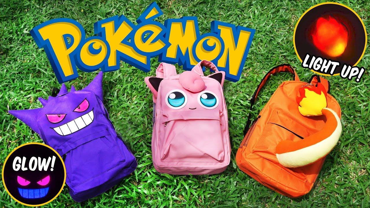 DIY Pokemon Backpack! FREE PATTERN  615c197266b8b
