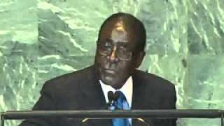 heroic speech by pres mugabe in un g a on libya colonialism and nato aggression sept 22 2011