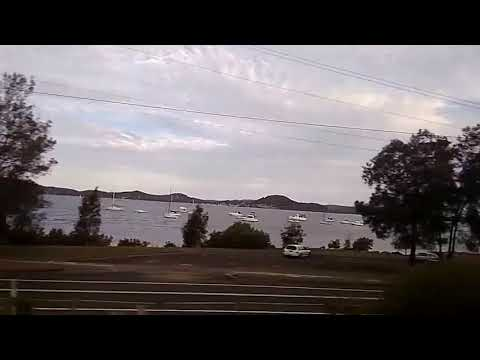 Central Coast by the Train, New South Wales (Australia)