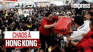 Hong Kong : chaos à l'aéroport