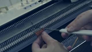 Вязание горловины. Частичное вязание.(Бесплатные видеоуроки машинного вязания для начинающих вязальщиц. В видеоуроке рассмотрен один из спос..., 2016-01-04T17:14:52.000Z)