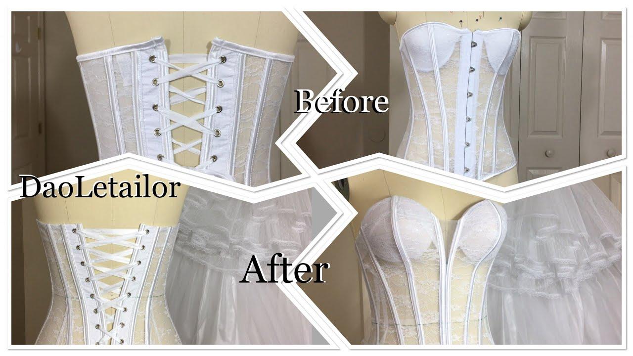 Cắt may áo cưới đẹp như Công Chúa rất dễ DaoLetailor phần 1