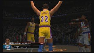 NBA 2K3 - 80s East vs West - Magic vs Zeke