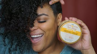 Creme of Nature Pure Honey Twisting Cream | Moisture Whip