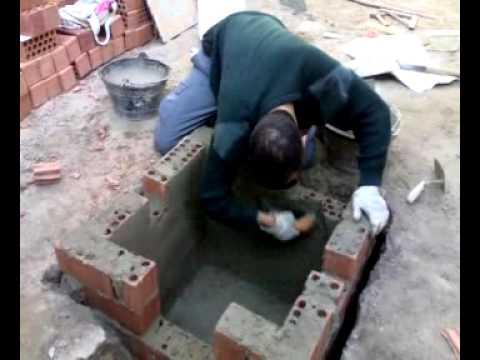 Construccion de una arqueta sif nica youtube - Construccion de chimeneas de ladrillo ...