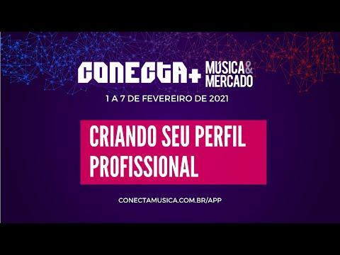 Criando seu perfil profissional no Conecta+ Música & Mercado