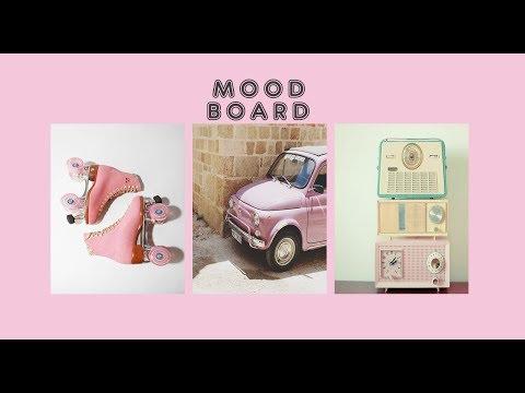 Mood Board  Vintage inspired