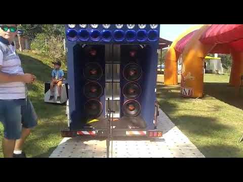 Caretinha  + Alto Falantes Triton Batendo Record