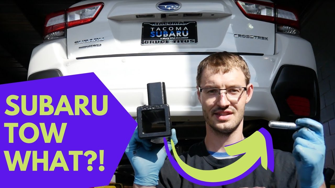 2018 2019 Subaru Crosstrek Ecohitch Trailer Hitch
