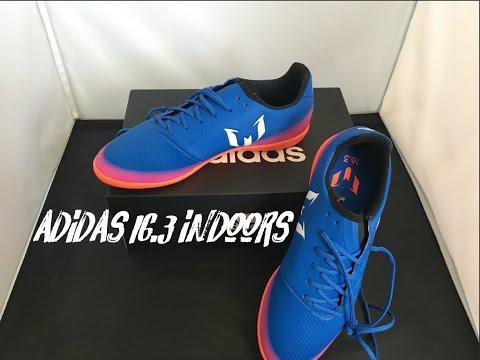 de73791f8b55 Adidas Messi 16.3 Indoor Unboxing ll Soccer.com - YouTube