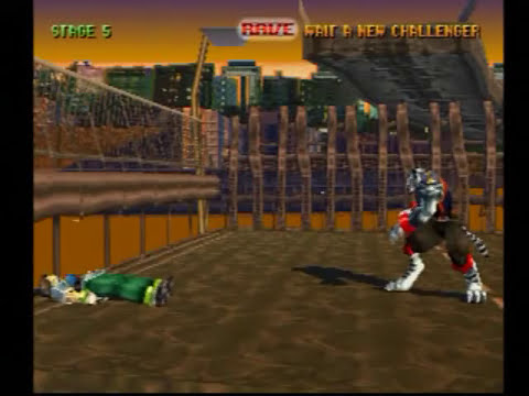Bloody Roar (PS1) Gameplay