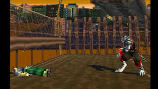 Bloody Roar (PS1) Gameplay