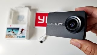 MOST AMAZING - YI LITE ACTION CAMERA  - 16MP - EIS - TOUCH SCREEN - Waterproof (40M)