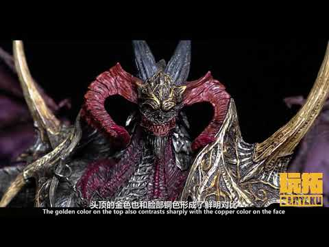 Gantaku MONSTER-BARRETTA statue review English subtitle