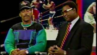 Bryant Gumble Interviews Joe Frazier Ken Norton Larry Holmes Muhammad Ali 1989 Part 1