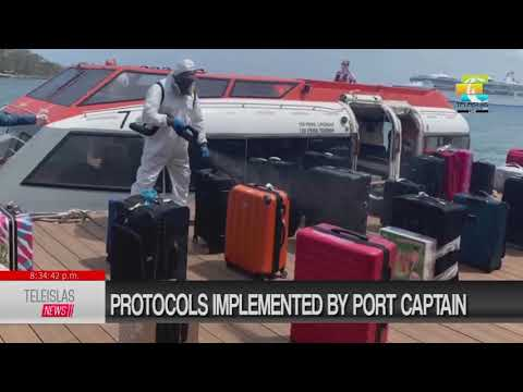 #TeleislasNews #English Protocols implemented by port captain.
