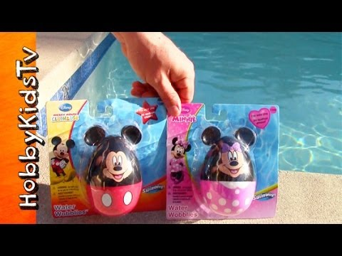 Disney Mickey Mouse Clubhouse Race Summer Water Wobblies! Mickey Mouse, Minnie Mouse