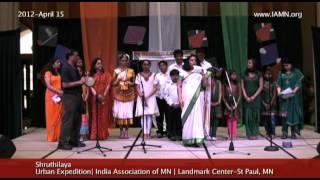 Shruthilaya-Song 3 [India Association of MN]