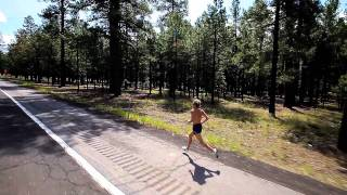 Ryan Hall Trains in Flagstaff, AZ